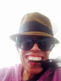 Thylias feeling sexy in Mr. Holman's hat