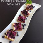 Blueberry Cheesecake Cookie Bars