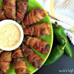 Bacon Wrapped Meatloaf Stuffed Poppers