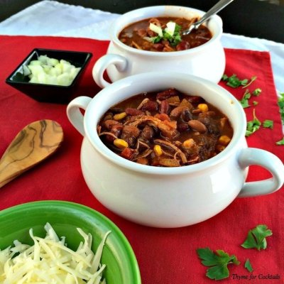 3Bean Chicken Chili