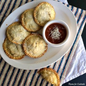 3Cheese Italian Chicken Hand Pies~ Thyme for Cocktails