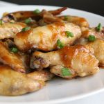 Spicy Maple and Brown Sugar Wings