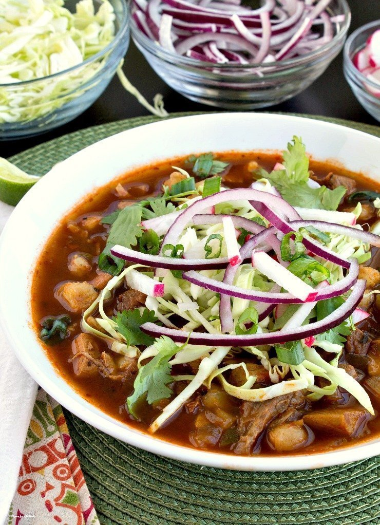 Turkey Pozole Rojo