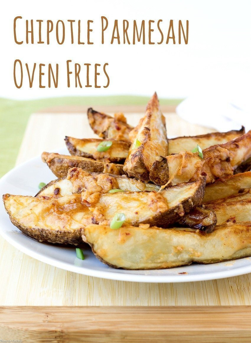 Chipotle Parmesan Oven Fries