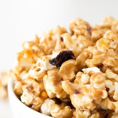 Salted Chipotle Caramel Corn