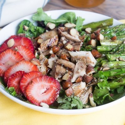 Grilled Sweet Tea Chicken Salad