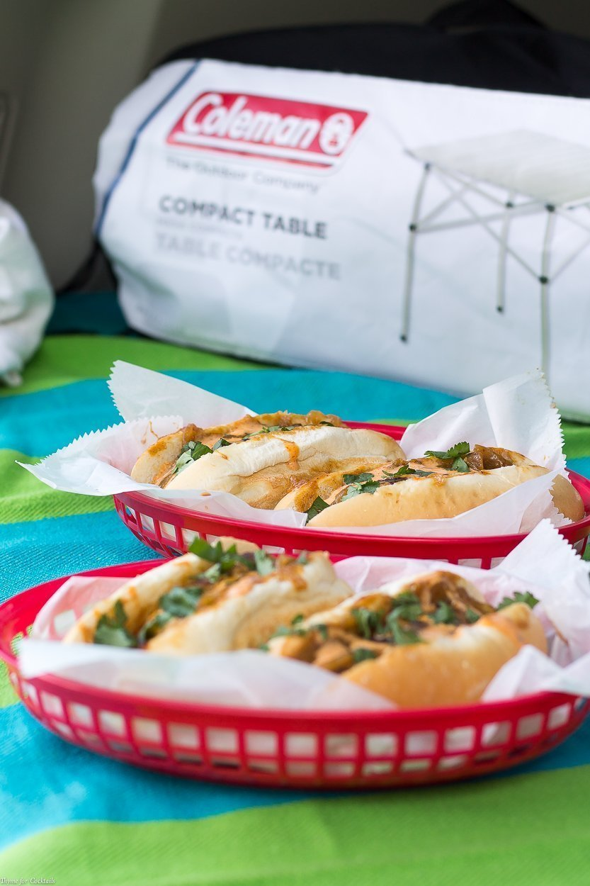Take your tailgate to the next level with this rich, smokey Chipotle Mustard Beer Brats recipe guaranteed to make the opposing team drool with envy!