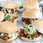 Baja Chicken Sloppy Joes Sliders Recipe + video