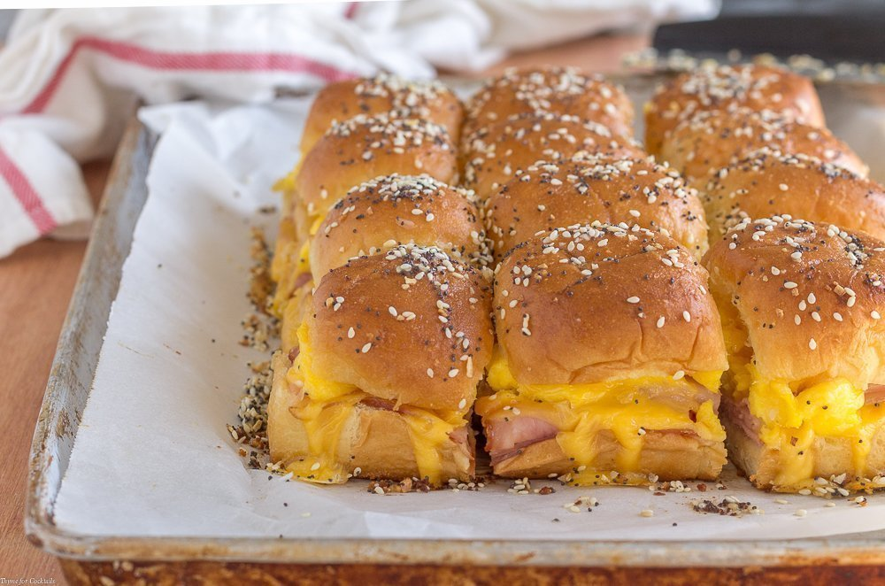 Baked Breakfast Sandwiches