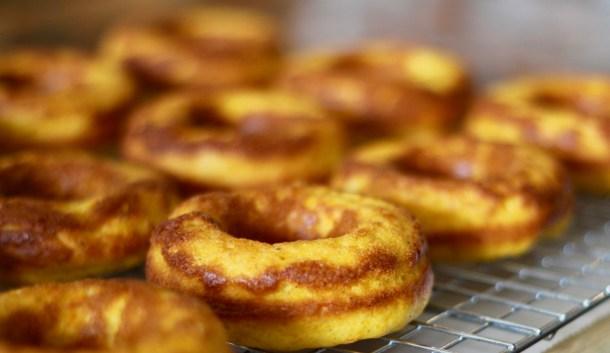 baked sweet potato donuts