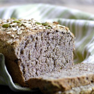 Homemade Gluten Free Buckwheat Bread