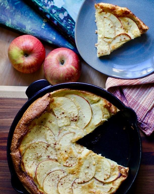 gluten free dutch apple baby