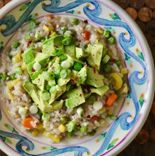 dairy free spring vegetable risotto