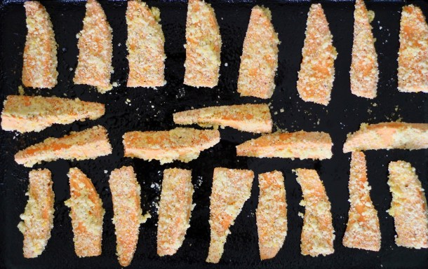 Parmesan Crusted Sweet Potato Fries