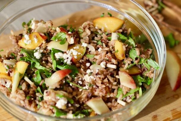 Summer Wild Rice Pilaf