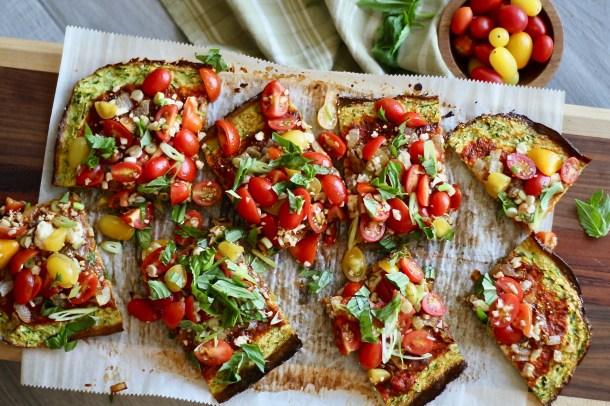 Zucchini Pizza Crust
