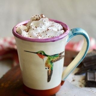 Spiced Collagen Hot Chocolate