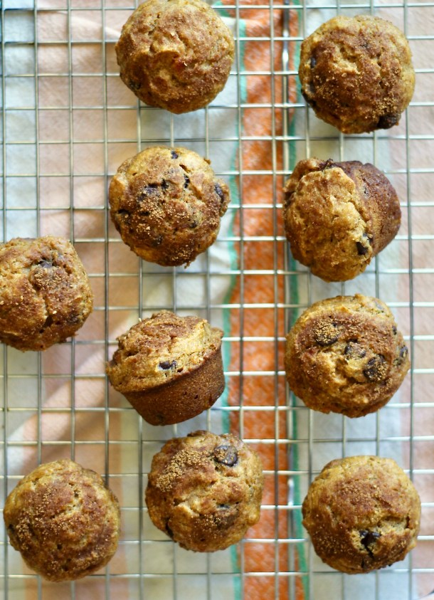 Cassava sweet potato muffins