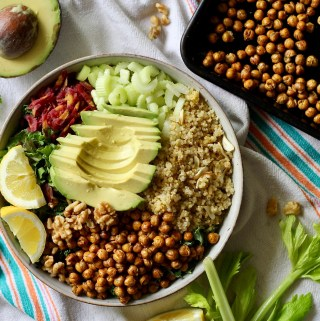 Crunchy Quinoa Power Salad