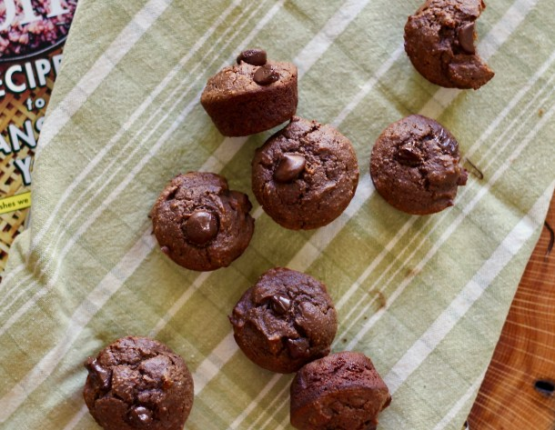 Flourless Chocolate Mini Muffins