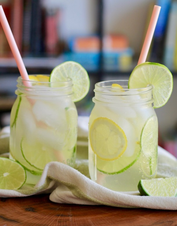 Sparkling Apple Cider Vinegar Limeade