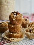 Vegan Oil-free Banana Muffins