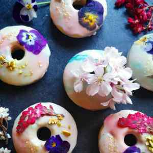 Flower Donuts