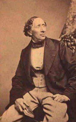 Hans Christian Andersen, the dandy