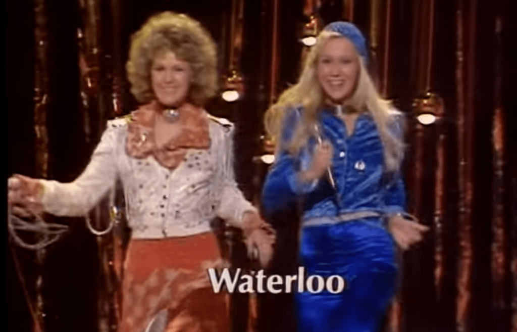Abba won the Eurovision Song Contest in 1974
