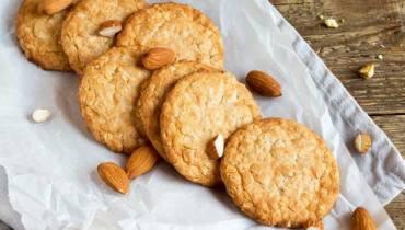 3 Ingredient Holiday Almond Cookies (GF, DF, Paleo)