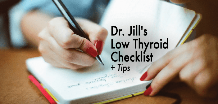Checklist-Of-Symptoms-Indicating-Low-Thyroid-Function