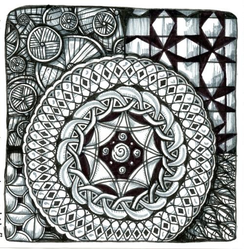 Ancient Shield, by Sandra Strait on Flickr, June 22, 2017