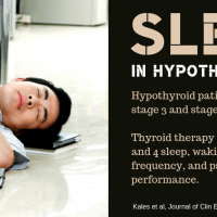 Low T3 thyroid hormone, insomnia, and sleep apnea
