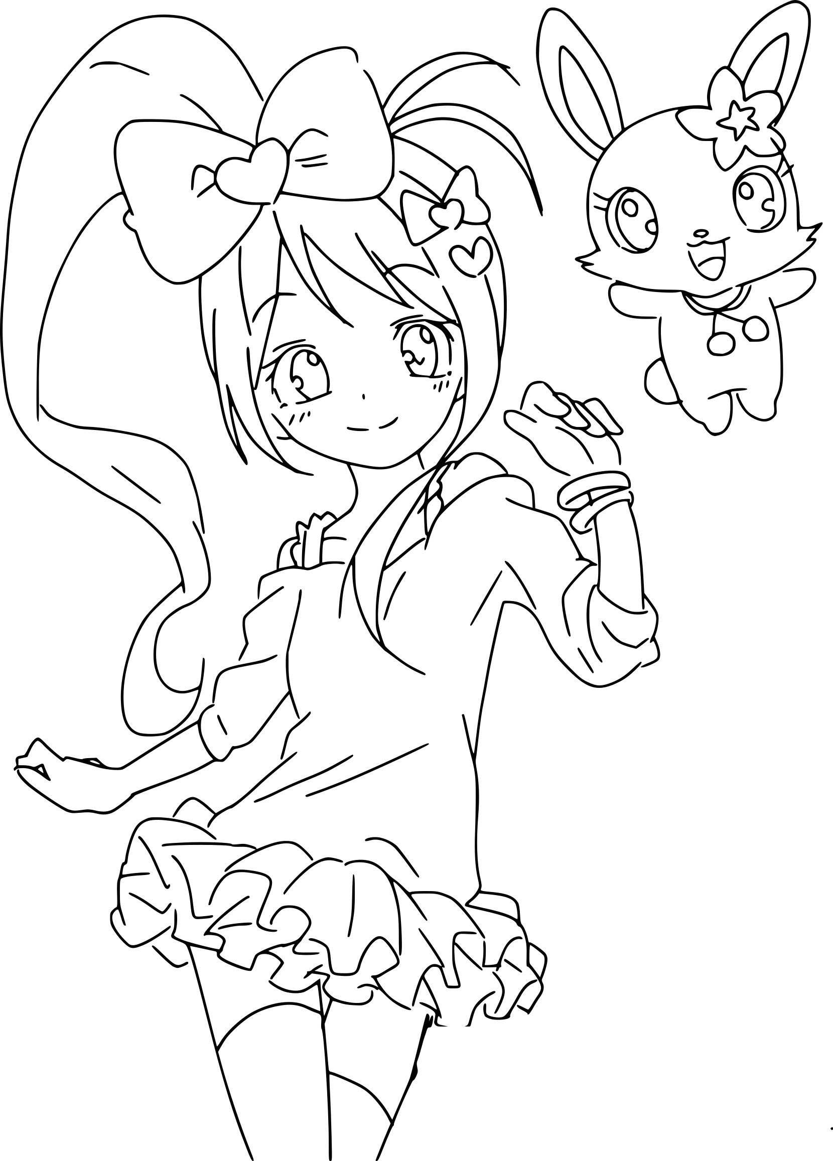 Garcon Coloriage Manga Fille Ado   Novocom.top