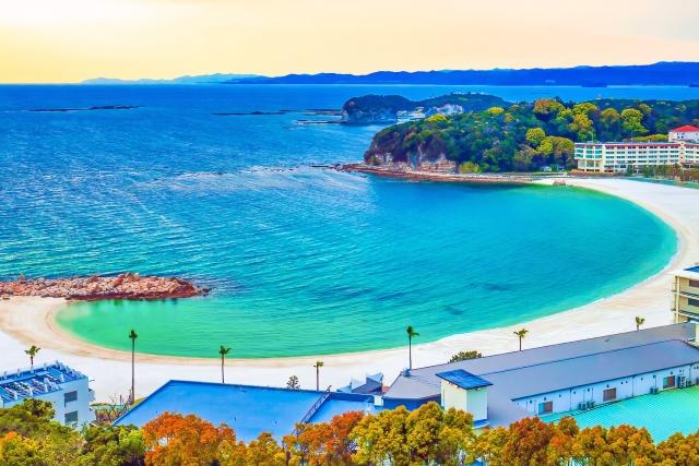 和歌山県の海岸
