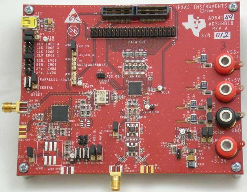 ADS4129EVM ADS4129 12-Bit, 250-MSPS Analog-to-Digital