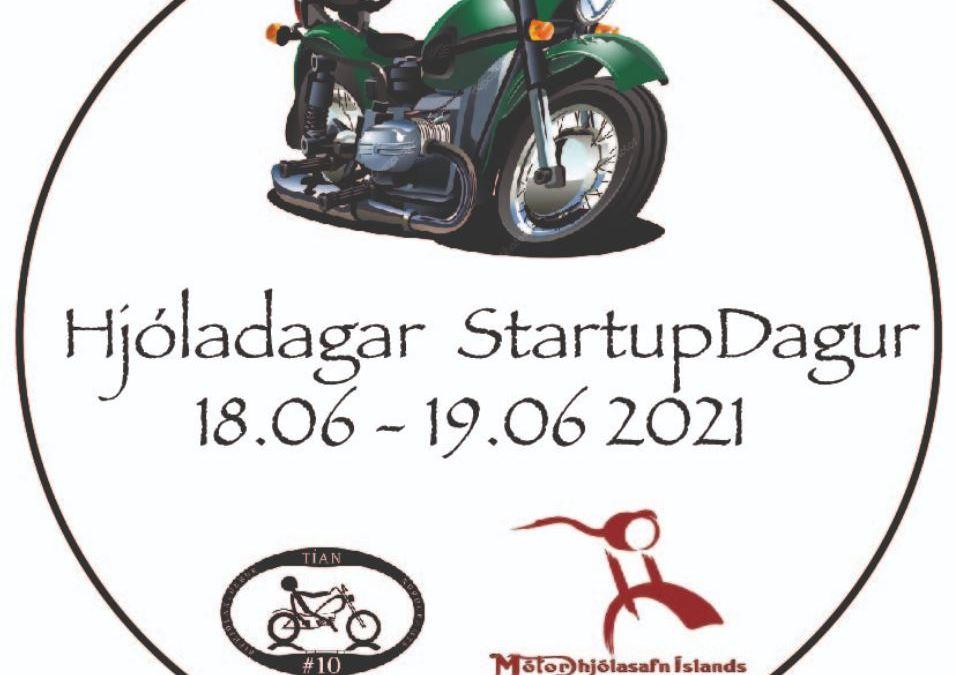 Hjóladagar og Startupdagur Mótorhjólasafnsins