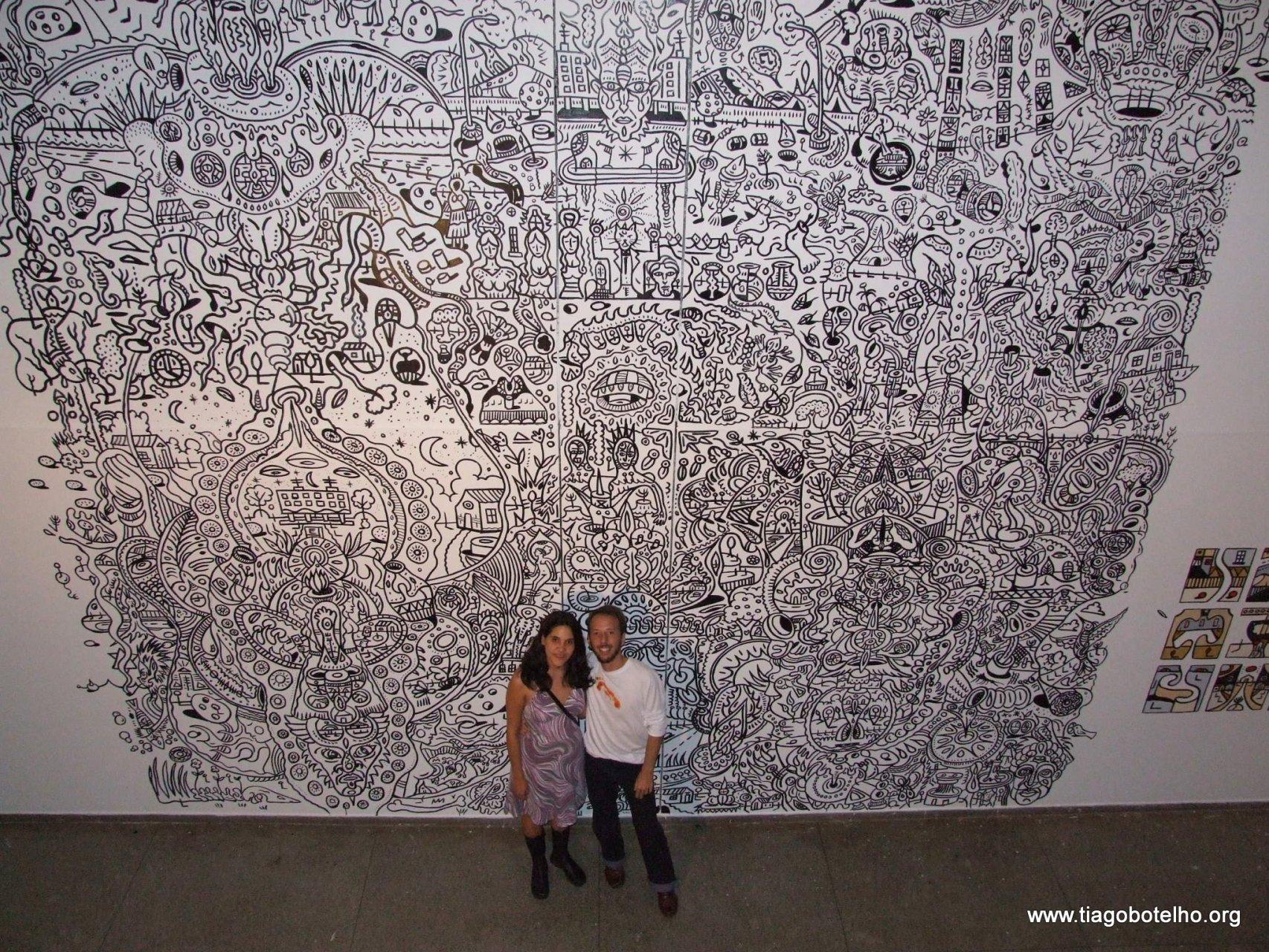 Com Marca Mencarini, uma das artistas de Ex-Tensões Urbanas