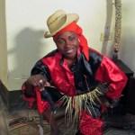 Magalis - grande conhecedora das tradições afro-cubanas