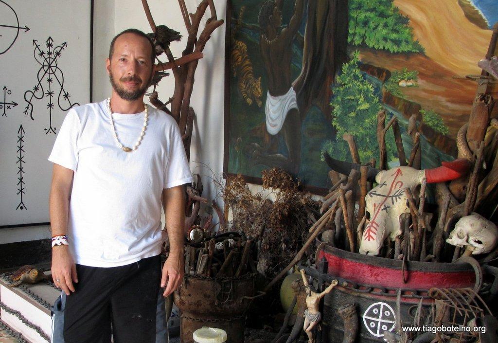 Artefatos cerimoniais da Tradição Palo Mayombe