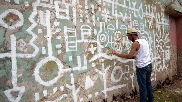 Mural em Guanabacoa – Cuba