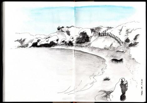 praia do cão