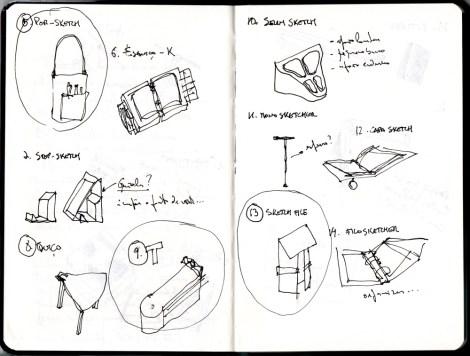 trabalhos dos alunos de Design do Produto na ESTG-IPVC