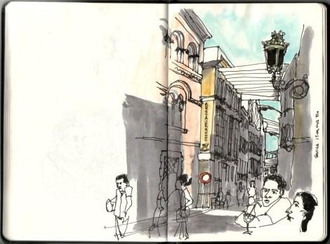 Calle Cuna, Sevilha, 19.06.2012