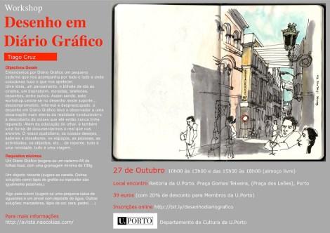 Workshop Desenho em Diário Gráfico