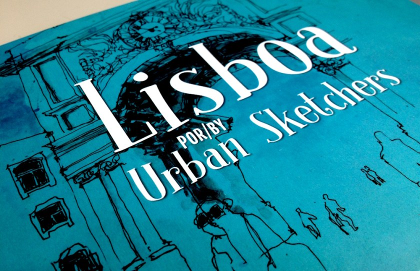 Capa do livro Lisboa by Urban Sketchers