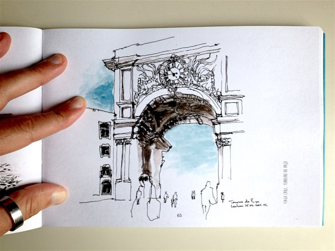 Lisboa por Urban Sketchers
