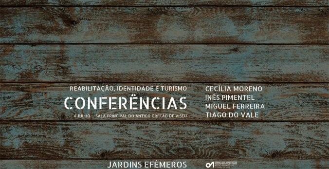 """Conferências: """"Reabilitação, Identidade e Turismo"""""""