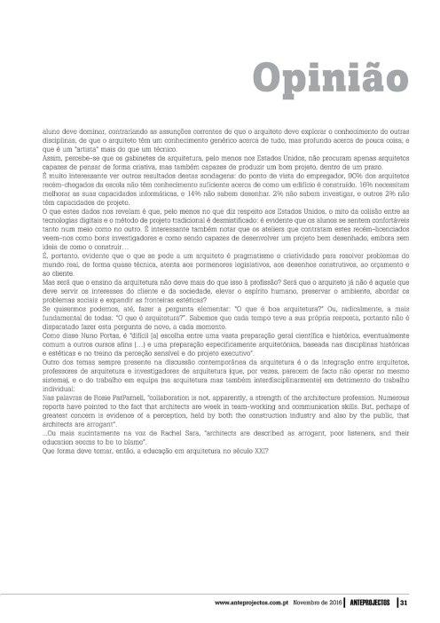 Revista Anteprojectos 269, 31