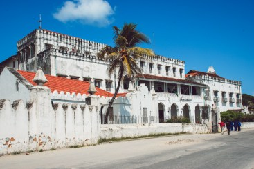 typical building of stone town